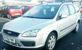 2006 Ford focus Estate 1.6 tdci Full mot brilliant drives cheap to run