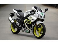 *Brand New* 66 plate WK Sport TTR125. Delivery, Warranty, Part-ex12-10