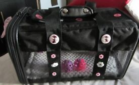 CAT/DOG SMALL ANIMAL CARRY BAG