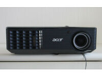 Acer X110P Projector, as new.