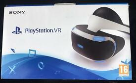 Used PS4 VR and two games