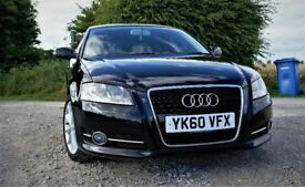 Audi A3 Sportback 2010 2L TDI Sport £30 Tax Full Main Dealer Service History HPI Clear