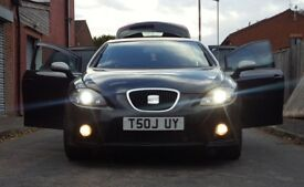 2007 SEAT LEON FR REMAPPED WITH SPOILER