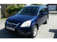 2003 (03) HONDA CRV 2.0 IVTEC SPORT SUV