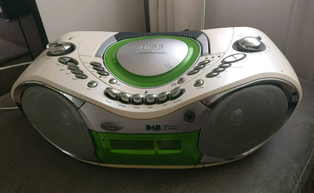 DAB, radio, CD, cassette player