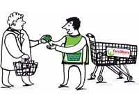 What would you give to fight food poverty? How about 3 hours?