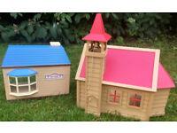 Sylvanian Toy shop & Sylvanian School