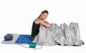 NEW Portable FIR Far Infrared Sauna Slimming Dome Blanket SPA SALON Weight Loss