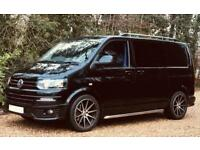 VW TRANSPORTER SPORTLINE COMBI WITH ROCK AND ROLL BED - T5.1 180 bhp camper day van