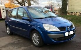 Diesel Renault grand scenic DYN-DCI for sale, MOT, service history, drives perfect.