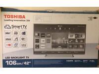Toshiba 42in Full Smart /WIFI 3D tv