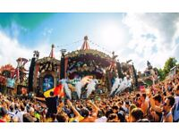 Tomorrowland SOLD OUT festival tickets and flights Global Journey Dreamville Package Weekend 1