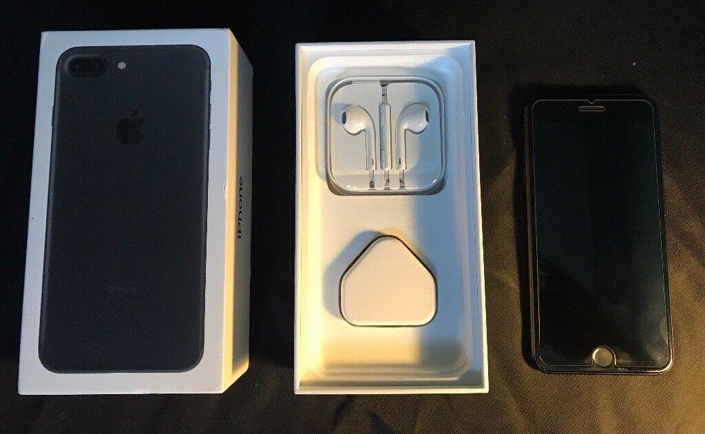 iPhone 7 Plus Black 32GB on EE
