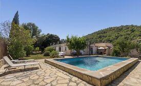 Beautiful villa in Majorca, near Pollença, 4 beds £365,00. The property is ALL Legal.