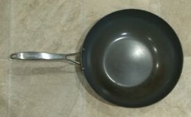 GreenPan wok Stockholm Stainless Steel Triply 30 cm
