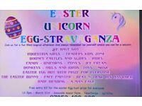 Easter unicorn egg-stravaganza