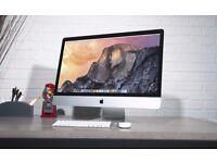 "Apple Retina iMac 5K 27"" Late 2015 - Quad i5 3.2GHz - R9 M390 - 24GB - 1TB Fusion - Receipt/Warranty"