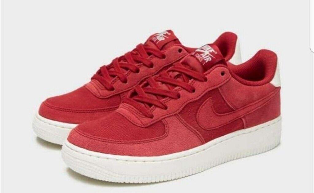 Nike Sportswea Air Force 1 Low Red Velvet