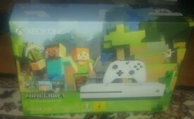 Xbox one s 500gb console plus games