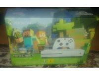 Xbox one s 500gb console plus games