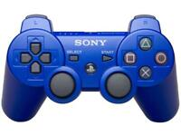 Sony dual shock wireless PS3 controller with USB cable