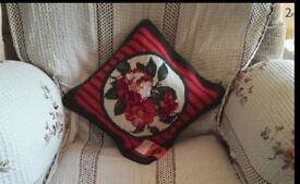 Wool Needlepoint Cushion Cover