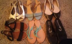 **JOB LOT** 6 pairs of Womens Shoes.