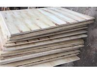 3.5ft x 3ft ply boards £3 each