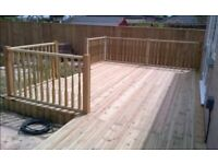 Fencing gates Decking wooden sleepers walls garden services landscaping