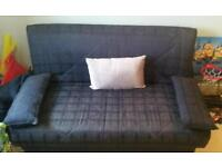 Navy sofa bed