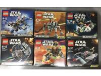 LEGO Star Wars Microfighters Series 2 & 3 Various all BNIB.