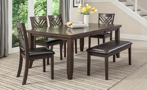 $699 - 6 PCS DINING SET