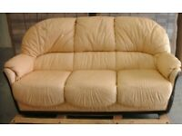 Three Piece Suite - Sofa and Two armchairs