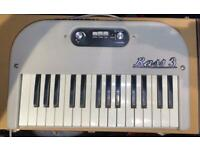 Hohner Bass 3 Vintage Synth with stand