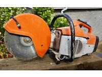 Stihl TS400 Petrol SAW Cut Off Stone/ metal Disc Cutter