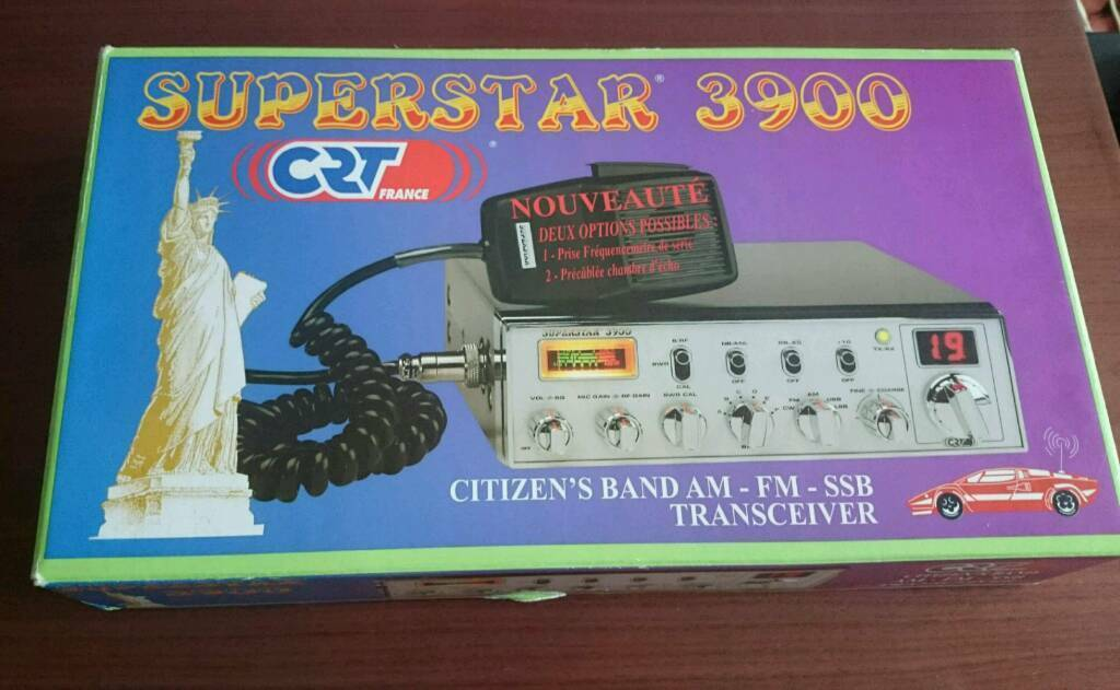 Superstar 3900 Crt Euro Fc390 6 Frequency Counter In