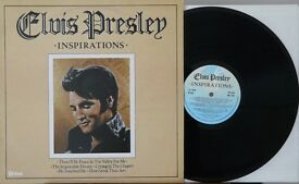 QUANTITY OF ELVIS PRESLEY VINYL LPs., ALL IN VG OR VG+ CONDITION.