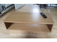 Tv table in perfect condition.