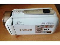 CANON LERGIA HANDY CAM HF R506 - NEARLY NEW -EXCELLENT CONDITION