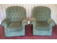 Sage Green Wallace & Gromit Type 3 Piece Suite