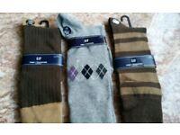 x3 pairs GAP mens socks - new