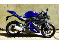 STUNNING 2014 YAMAHA YZF-R125 IMMACULATE UK DELIVERY