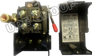Pressure control switch valve for air compressor replaces Furnas Square D
