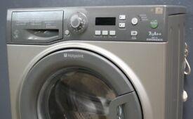 Washing Machine - Hotpoint - 6 Month Warranty - Silver - BLC12828