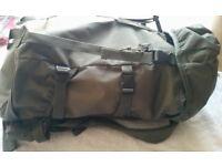 Hiking Bag 50L capacity, Almost new.
