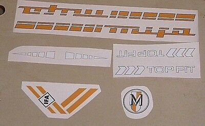 Aufklebersatz,Aufkleber,MIFA,Fahrrad,Radsport,Oldtimer,Raritäten,DDR,Ostalgie