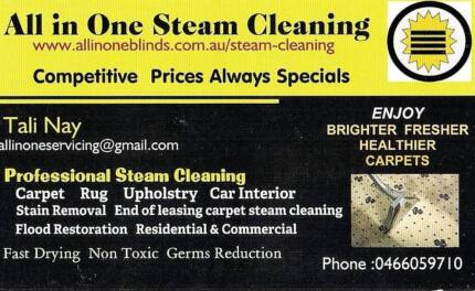 Carpet Steam Cleaning services