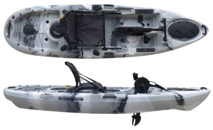 New Improved Pedalfish 10 Pedal Kayak