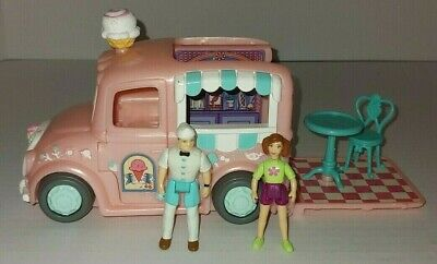 Fisher Price Sweet Streets Dollhouse Main Street Village Ice Cream Truck Set