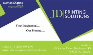 Printing business cards kijiji in kitchener waterloo buy business cards flyers invoices signs boards reheart Image collections